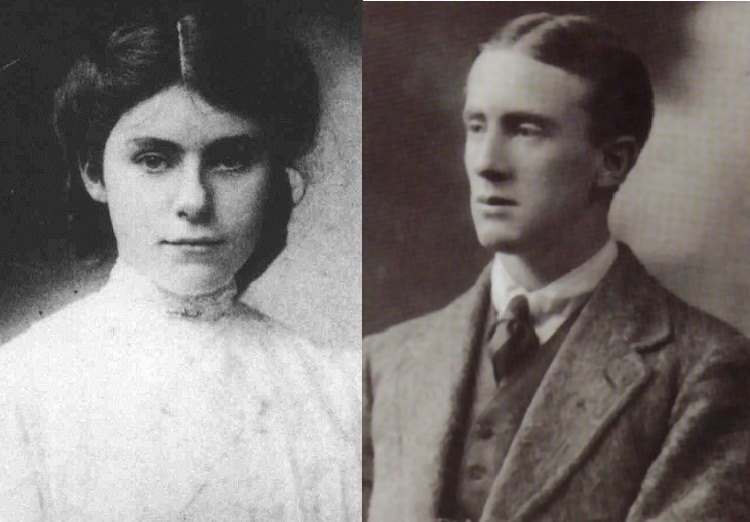 JRR and Edith Tolkien on the Carl Kruse Blog.