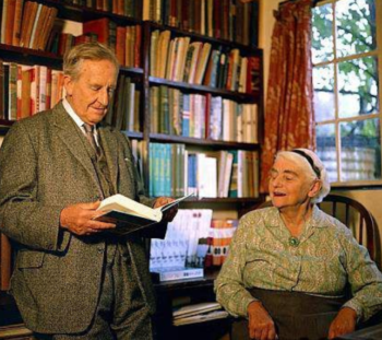 Carl Kruse Blog - Featured image of JRR and Edith Tolkien